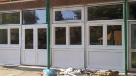 Fehér óvodai ablakcsere