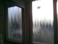Fürdőszoba műanyag ablakkal