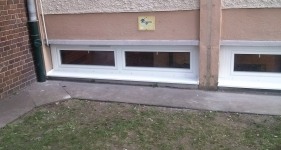 Műanyag ablak iskolában