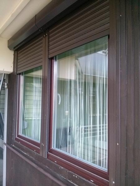 Barna műanyag ablak