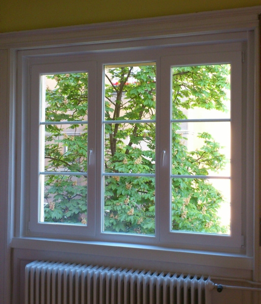 Álosztós műanyag ablak, bontás nélküli ablakcsere