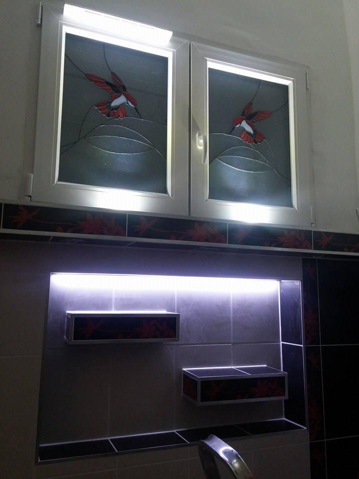 Kolibri mintás műanyag ablak